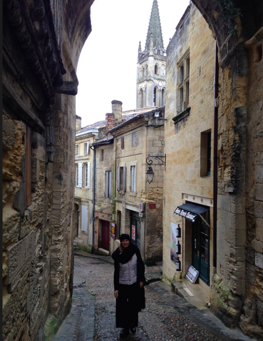 Stopped off at a beautiful town called Saint Emilion
