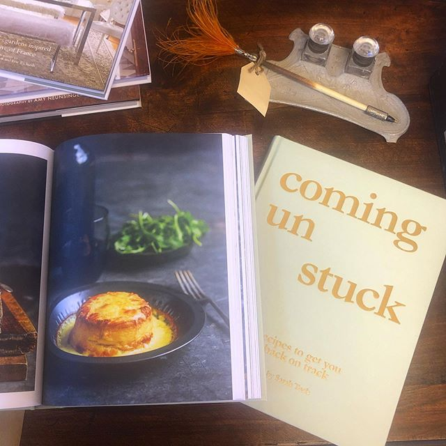 I've just received this amazing cook book for the shop written by recipe inventor Sarah tuck from dish magazine. This recipe for double baked cauliflower souffles im trying out tonight! Yuuuuummm!  Www.romantique.co.nz $59.99.