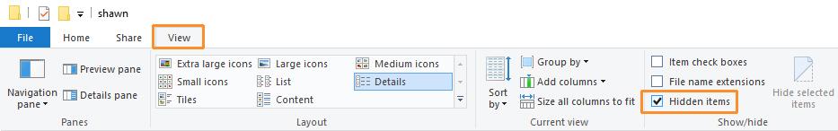 logs location hidden files.jpg