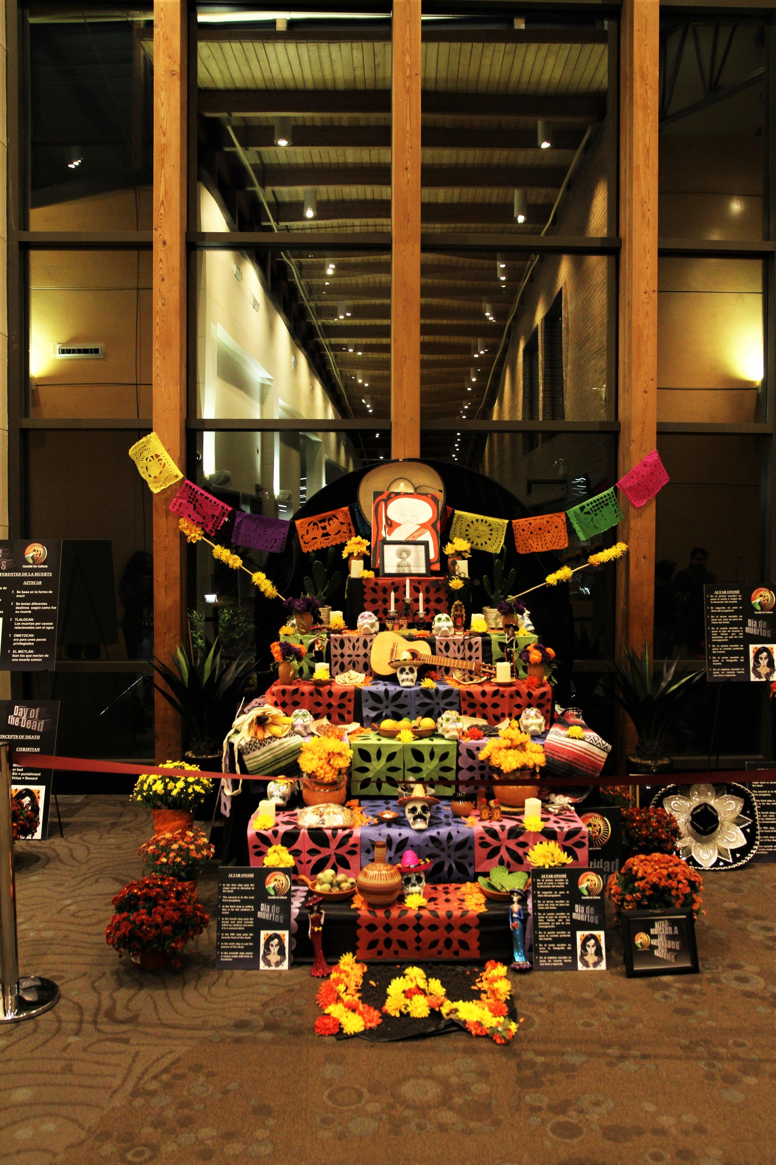 Copy of Our Dia de los Muertos Altar!