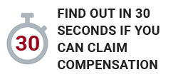 30 Second Injury Compensation Claim Check