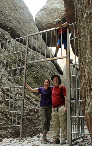 Exploring the caves at Pinnacles National Park