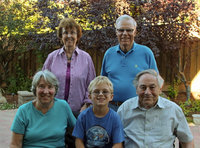 Jack and all of his grandparents