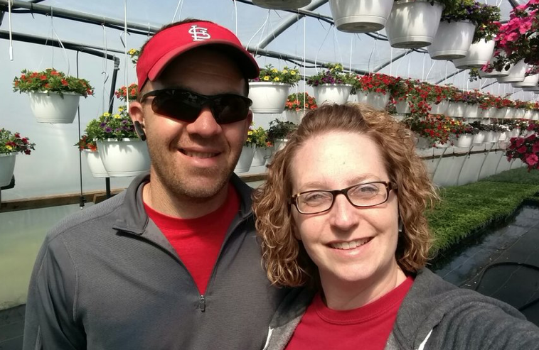 Mark and Rachael Ritter: Owners/Growers of Ritters, LLC.