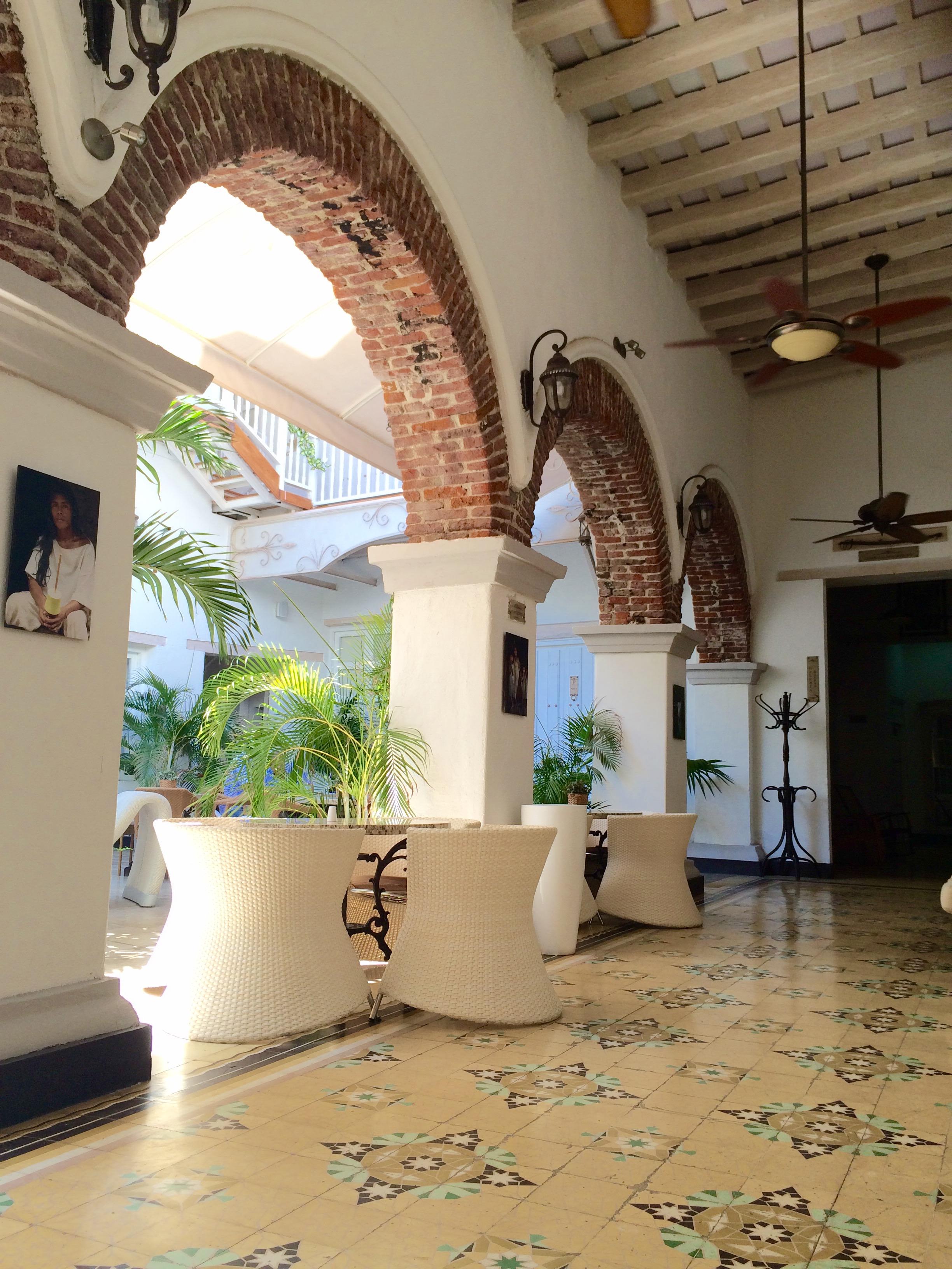 Georgia Ezra Interior designer Hotel Design Santa Marta Columbia Brick archways.jpg