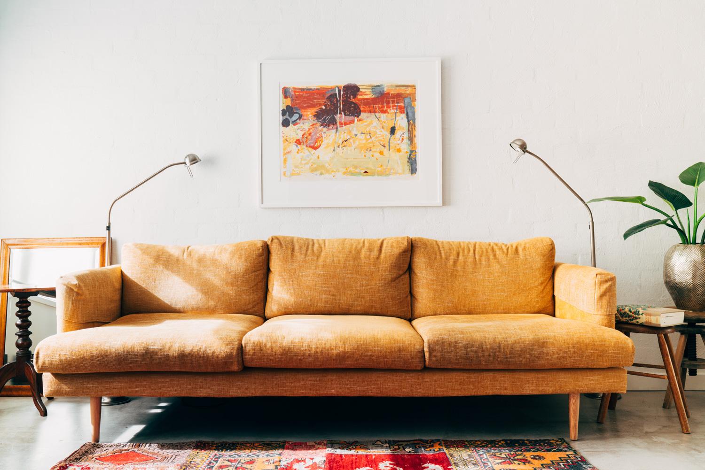 Studio Ezra Richmond Living Room Sofa interior design