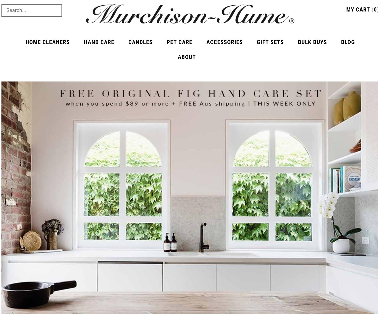 Georgia Ezra toxic free home interior design Murchison Hume