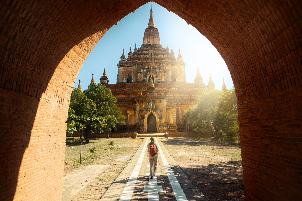 Nothing left to do but enjoy the sights and rich culture of Myanmar.