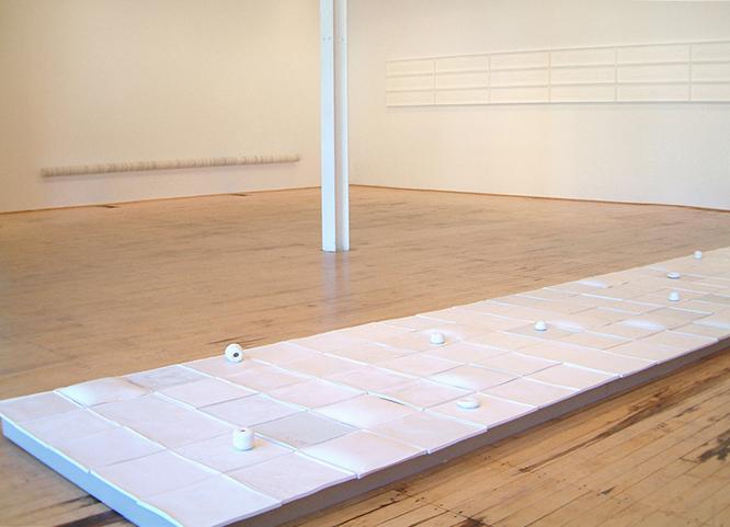 <i>Accrescere</i> Installation View: Revolution Gallery, Ferndale, MI, 2004