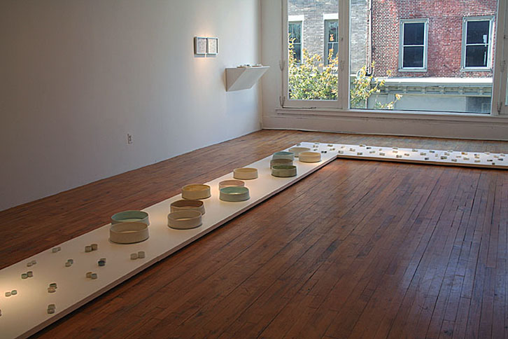 <i>Of a Moon Garden</i>, Installation, The Clay Studio, Philadephia, PA, 2006
