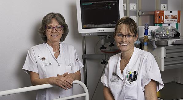 Neurokirurgisk Afdeling, Operation og Intensiv Nord, Aarhus Universitetshospital  - Leanne Langhorn & Lone Moeslund Larsen