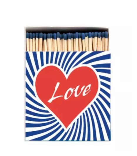 Archivist Love Luxury Matches, £6