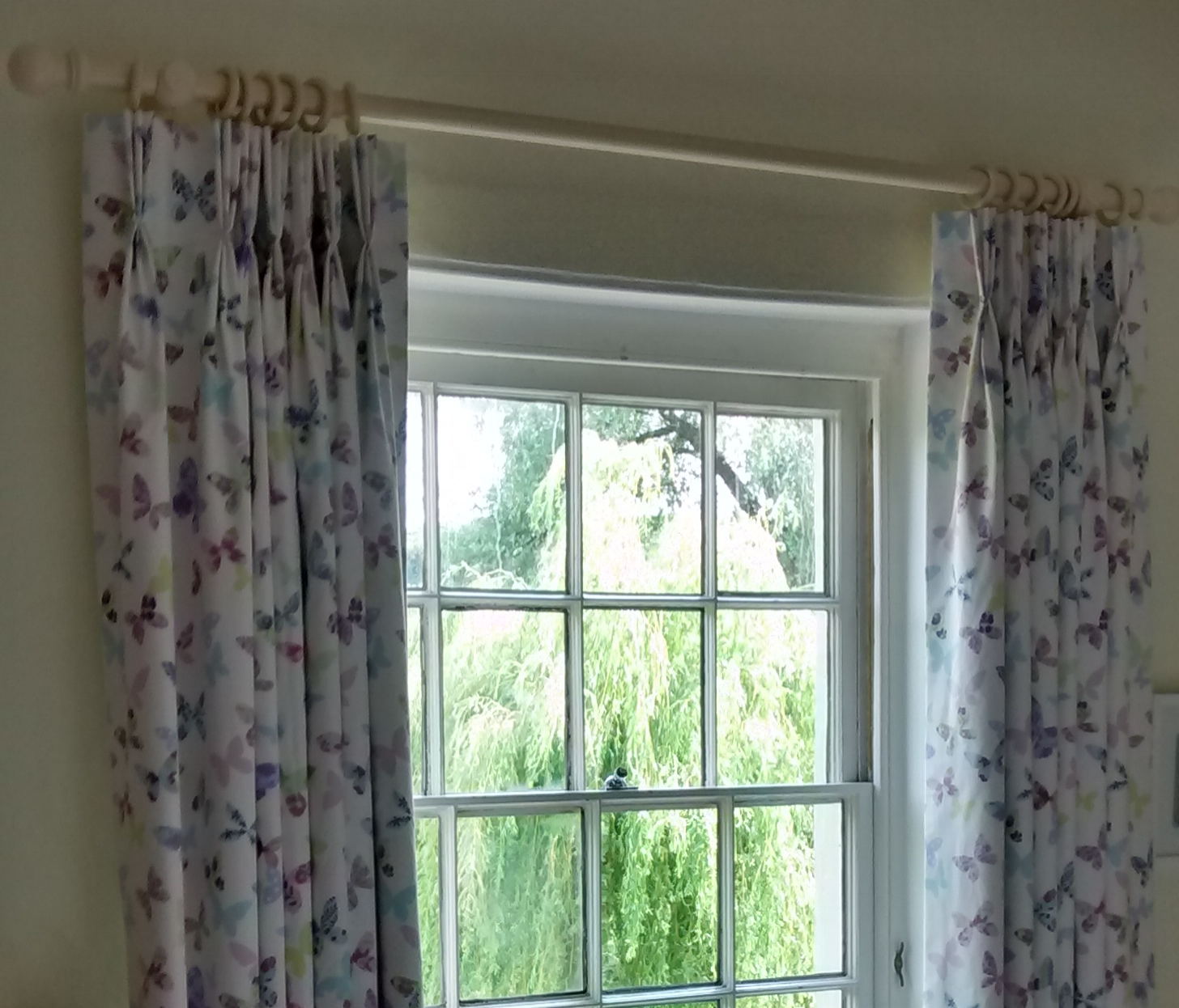 butterfly pinch pleat curtains