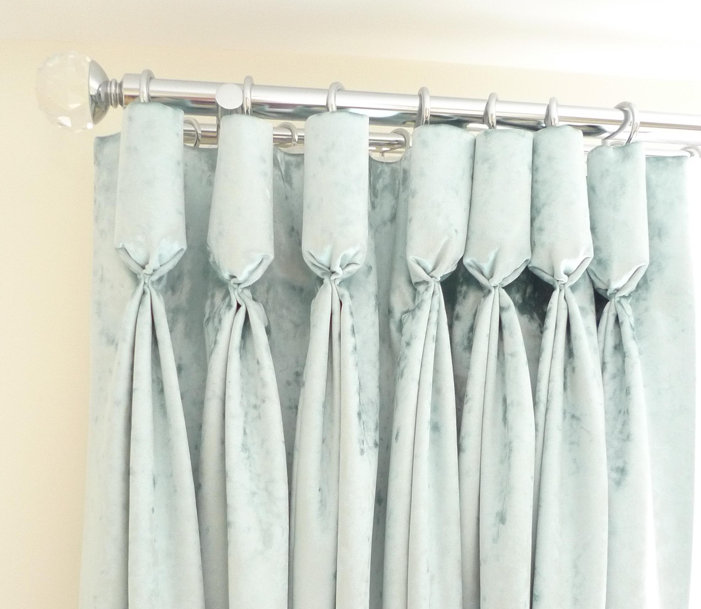 box pleat curtains
