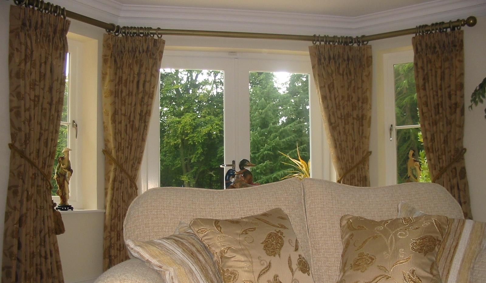 beige colour curtains for patio door