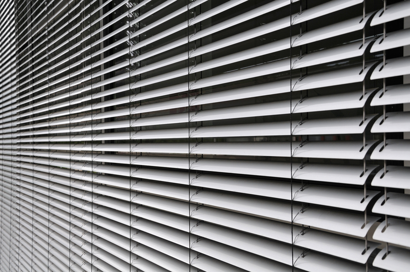 Wall of blinds