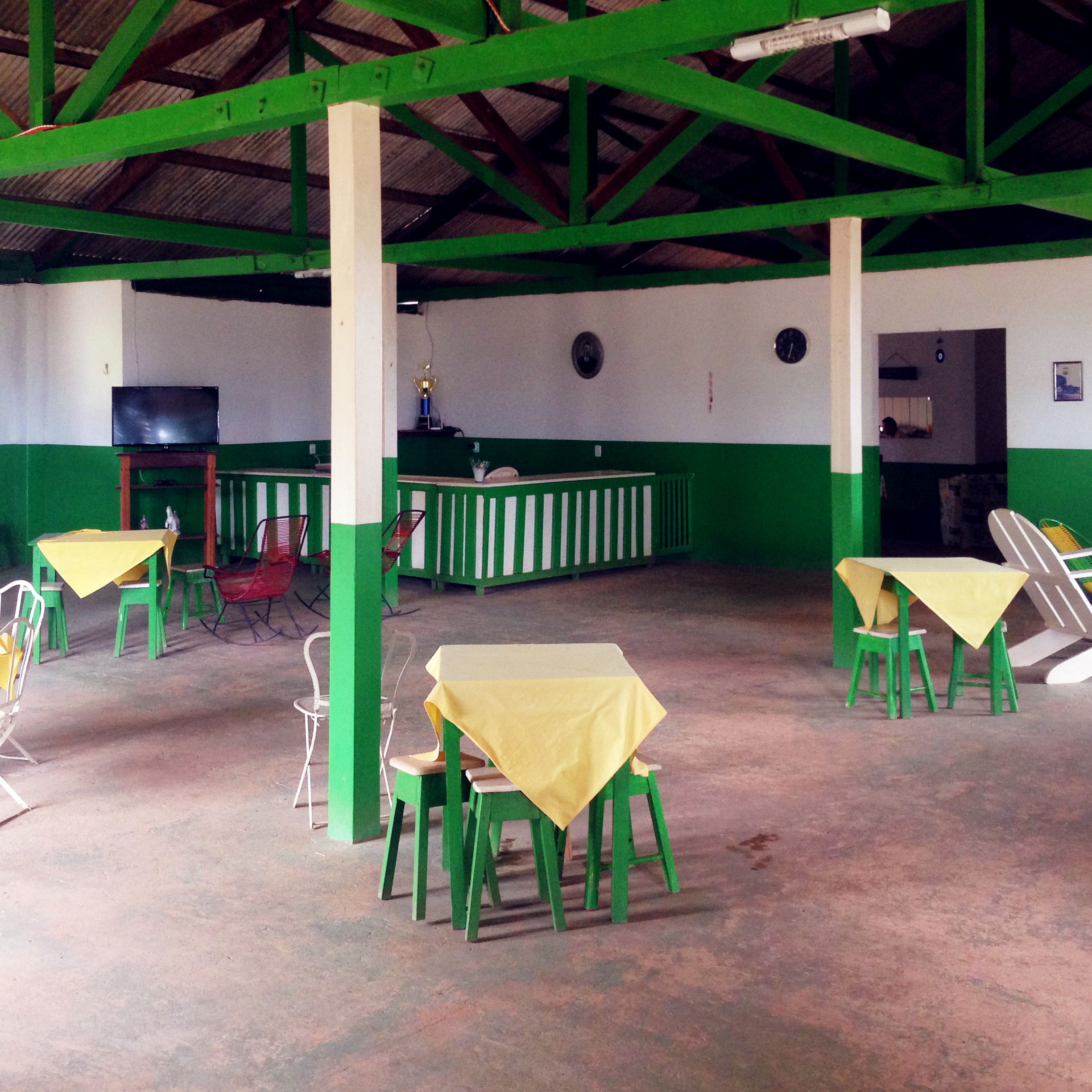 The canteen where the riot broke out. Today some sort of elderly home.