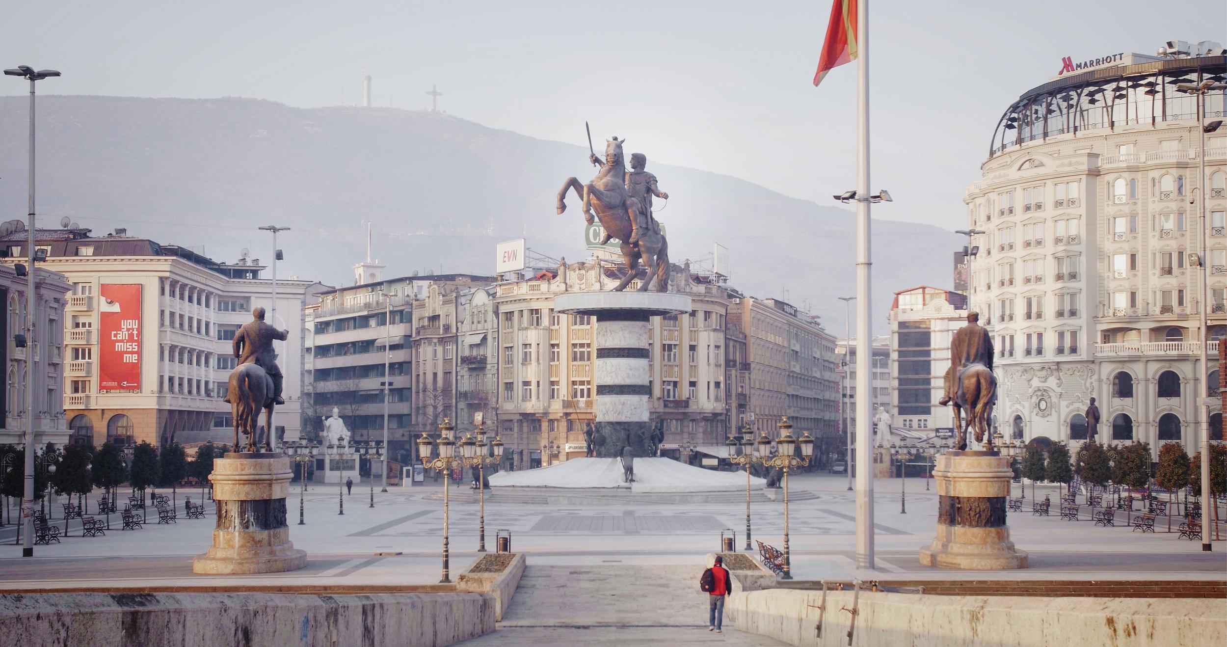 Skoplje, Macedonia