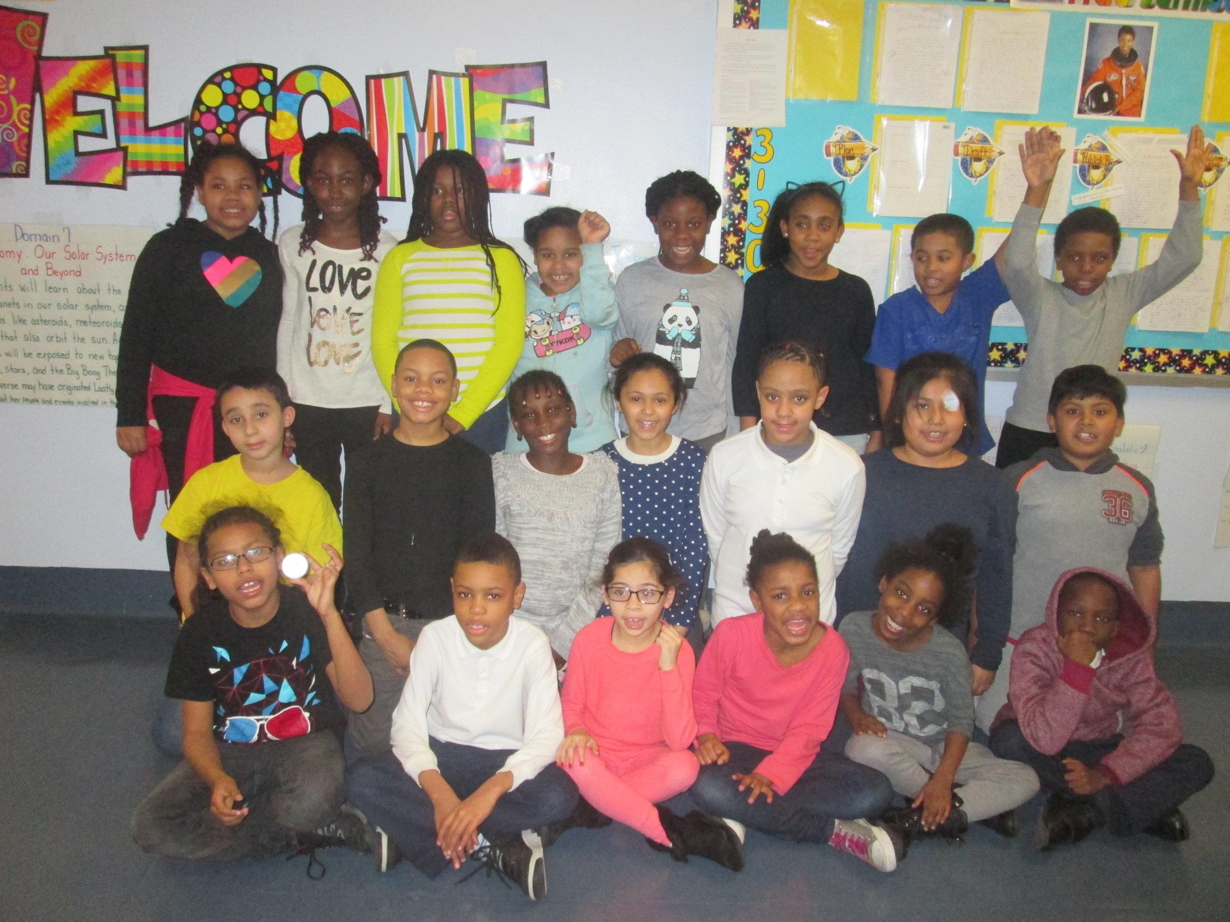 Ms. Bankston's class