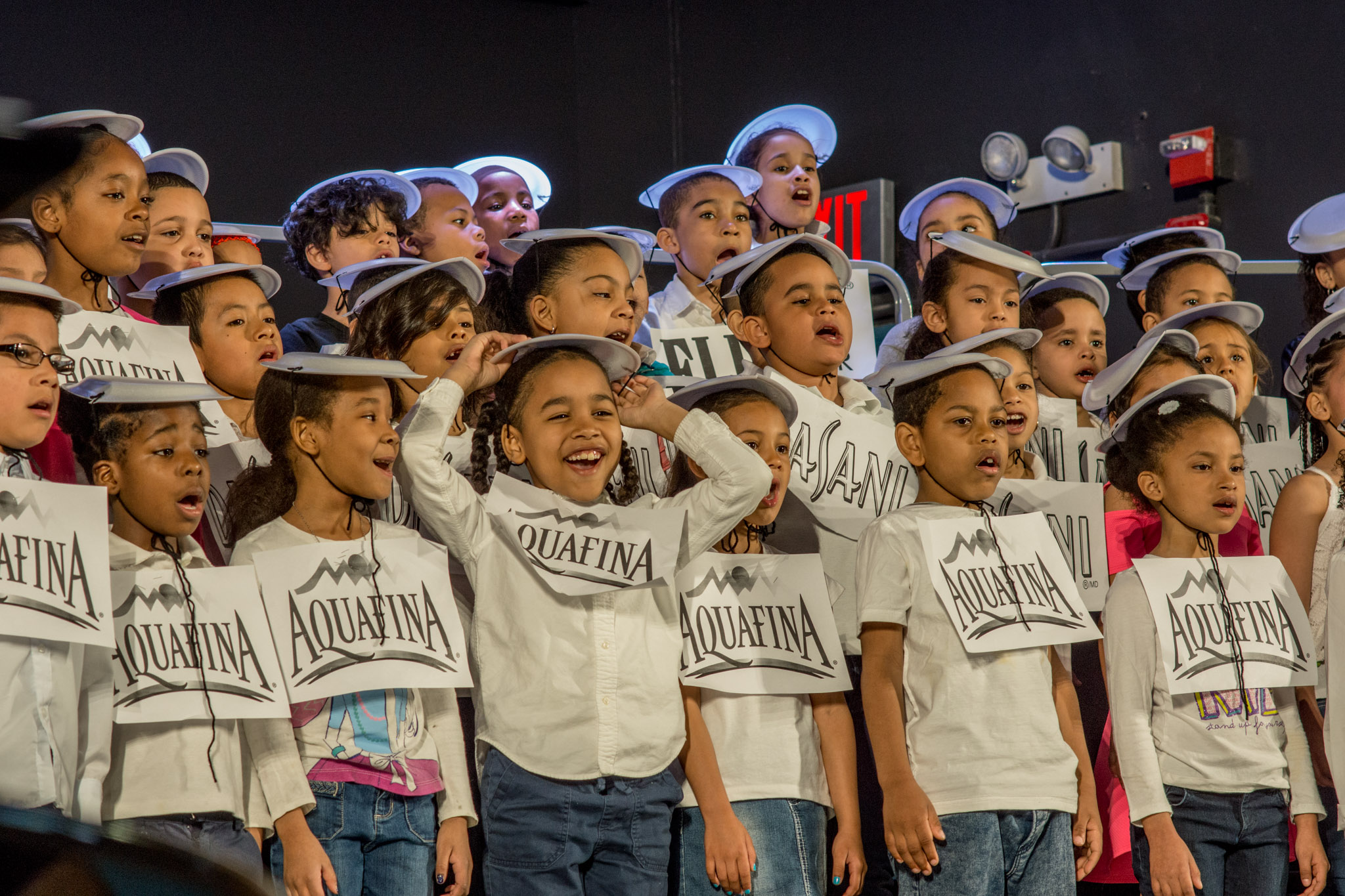First grade students knock it out of the part with their performance.