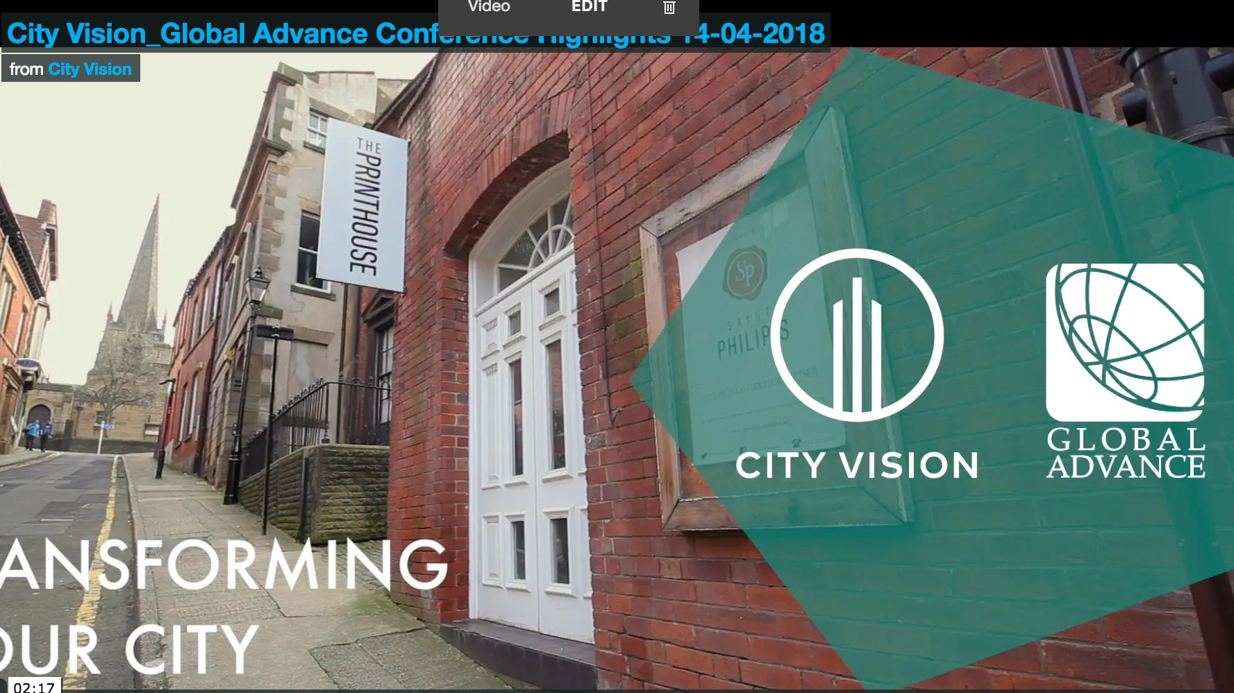 Sheffield conference, April 2018