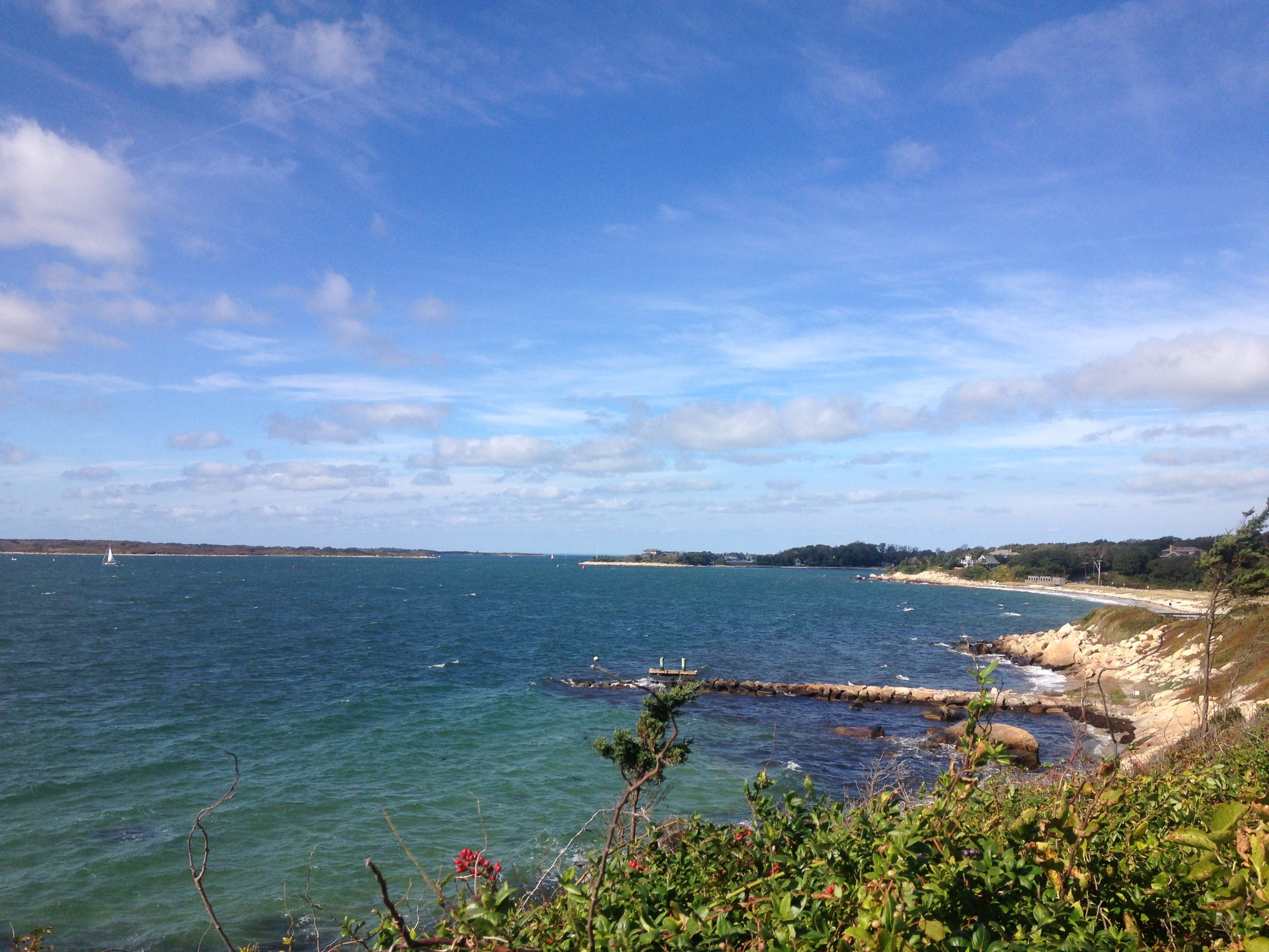 View from Cape Cod and the islands. Photo by Virginia Lora.