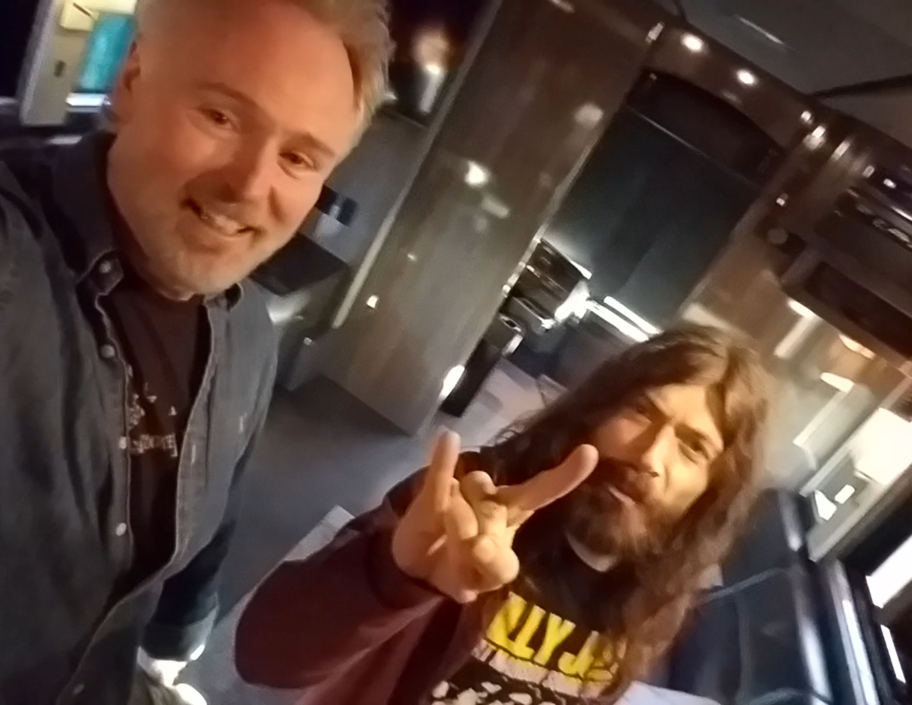 Brian Collins The Rabid Monk and Michael Devin Whitesnake Bassist/ Frontman - From The Earth