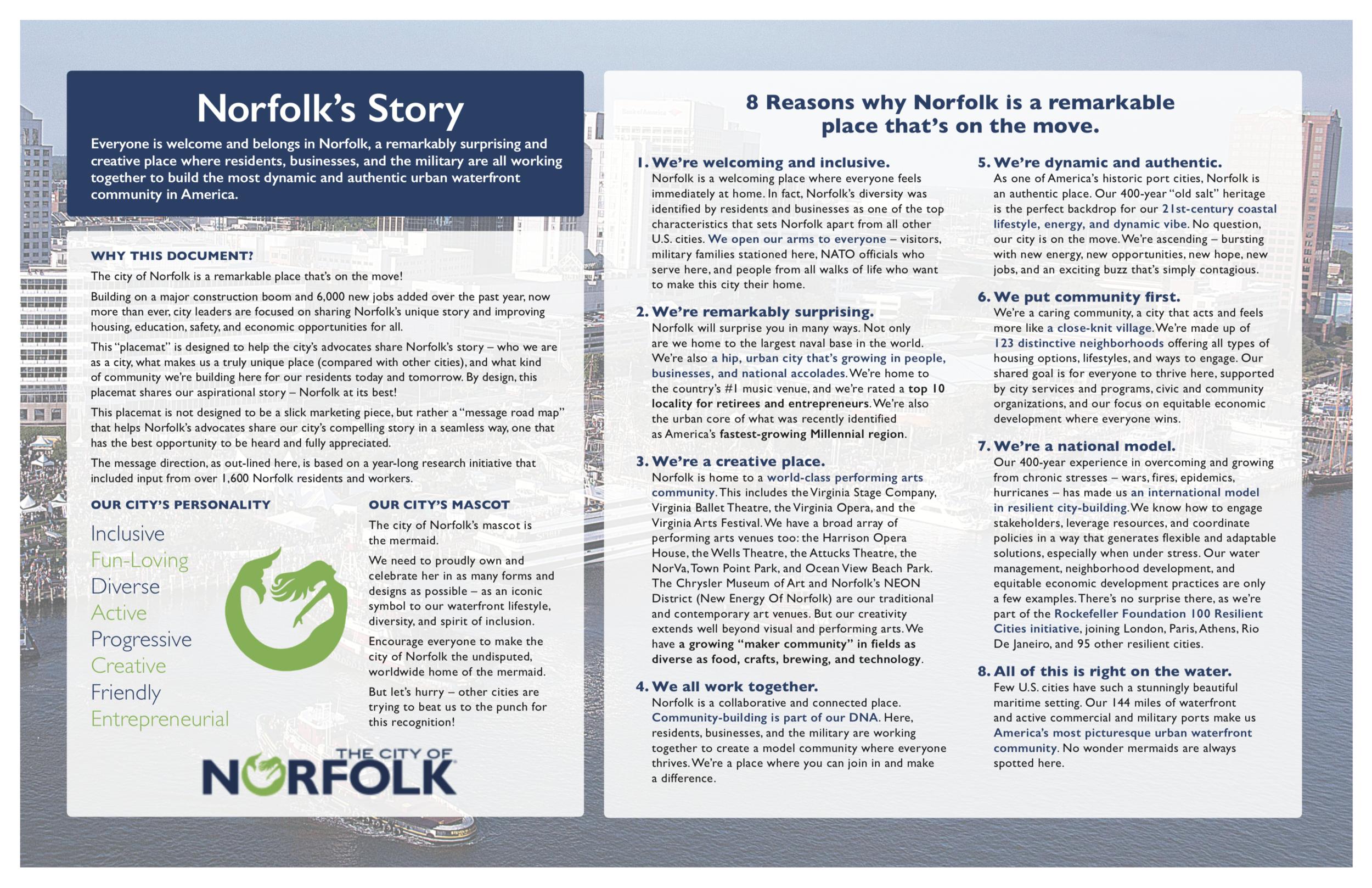 Norfolk Brand Architecture - Side 1