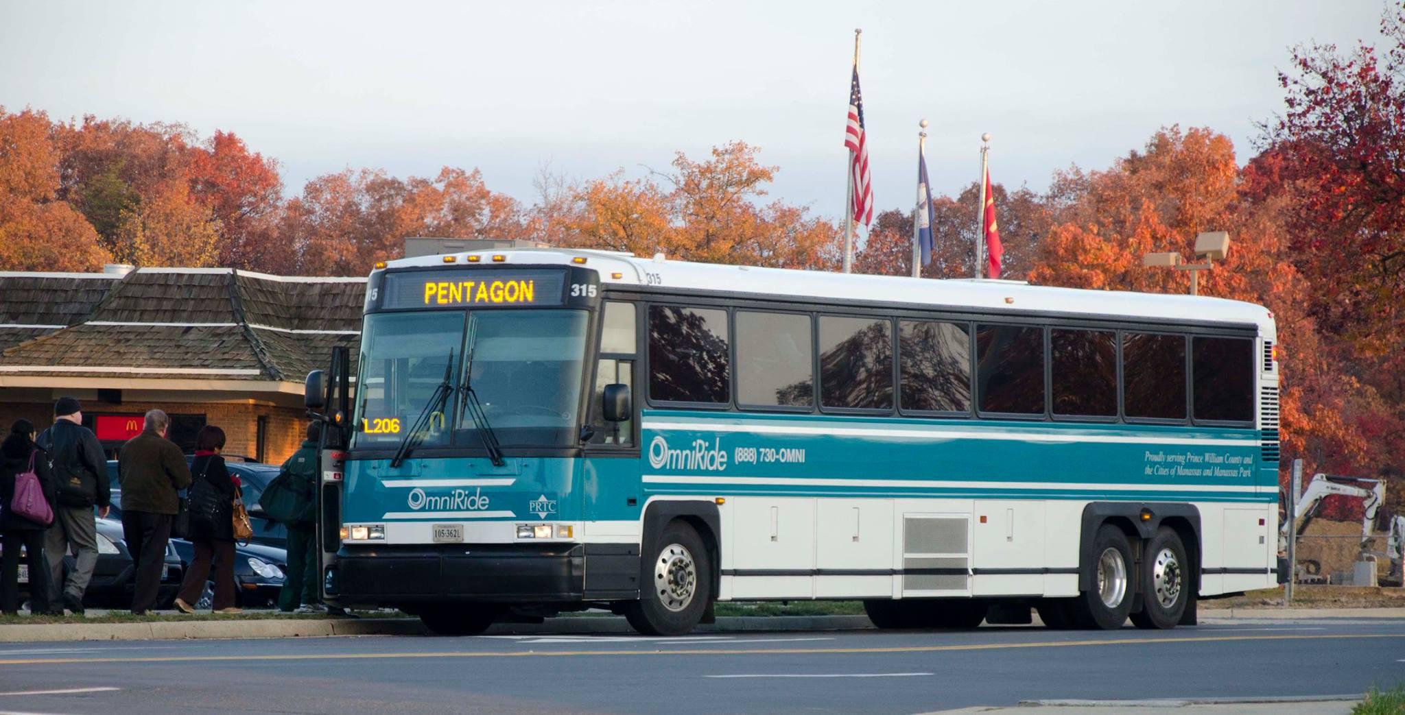 The Old PRTC Bus Design