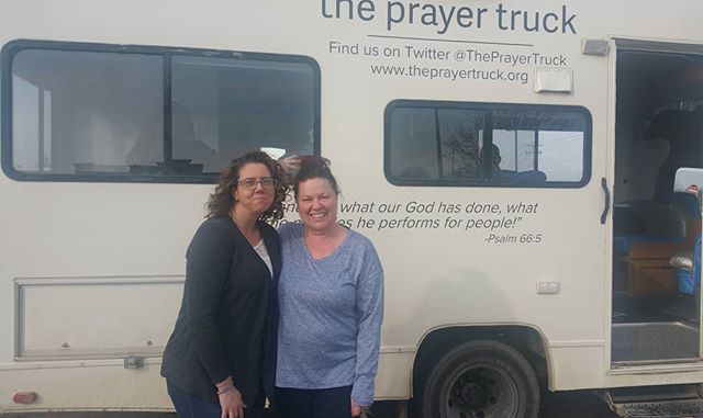 Excited to see how the prayer truck draws out the saints! On the way to Israel!