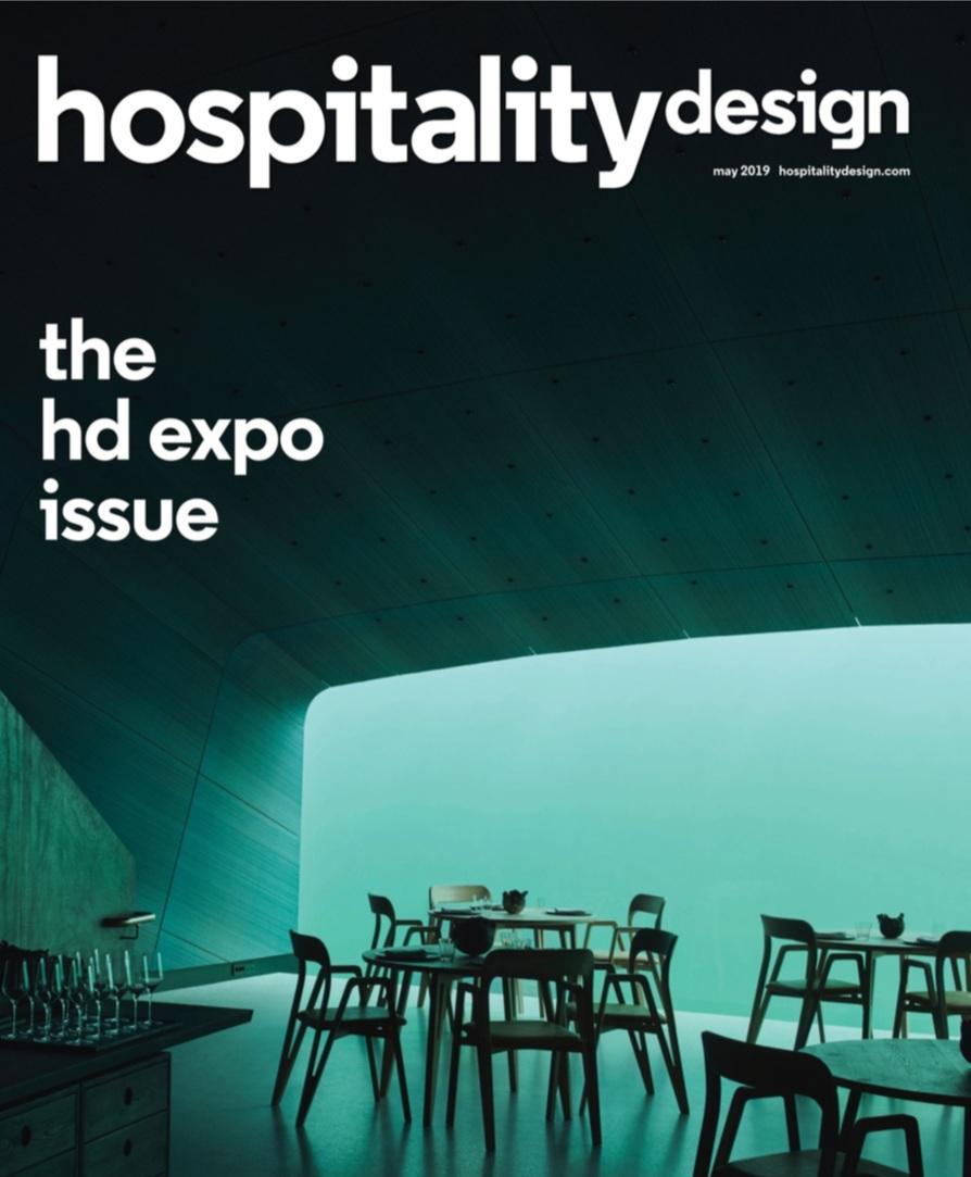 HOSPITALITY DESIGN  MAY 19
