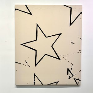 "Big Star, 2019, acrylic on canvas, 60"" x 48"" inches"