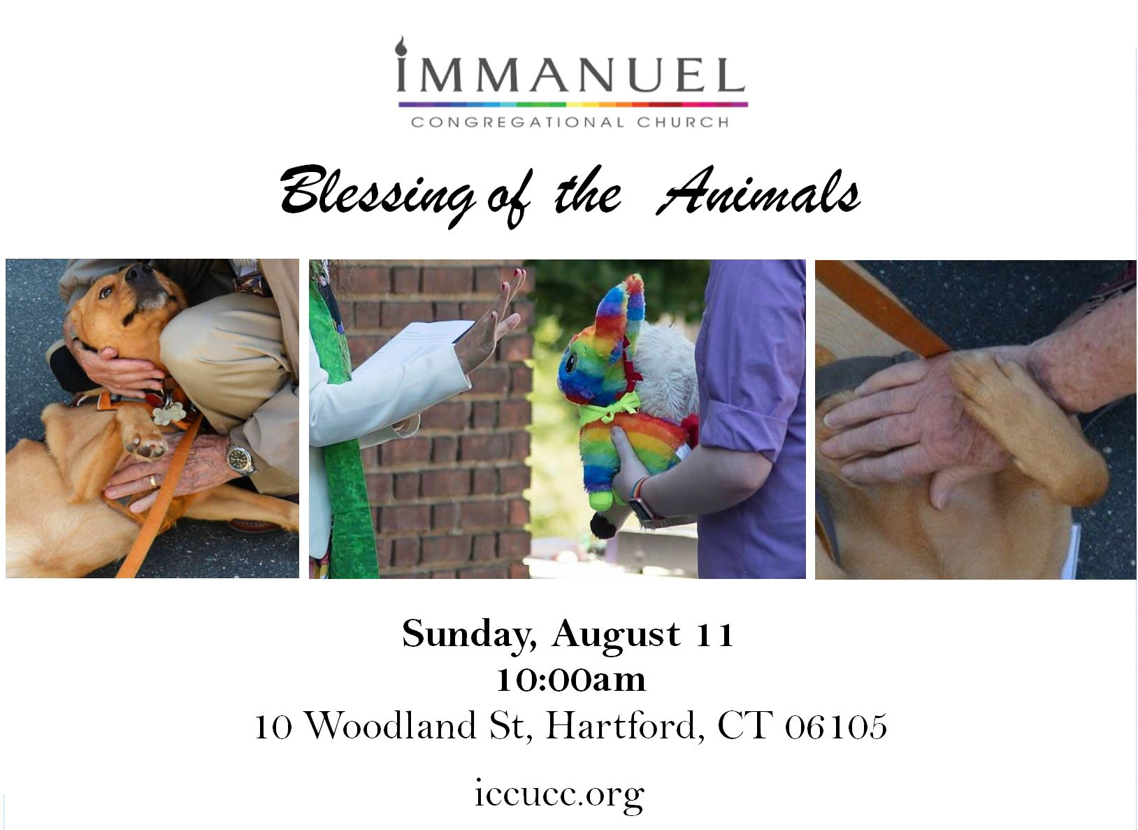 Isaac Blessing of Animals Flyer.JPG