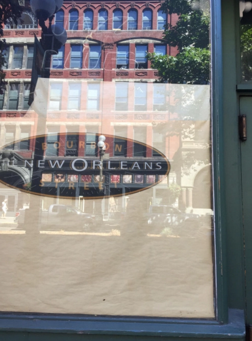 There's always a little piece of New Orleans we find anywhere we go…and look what we found in Seattle, Washington.