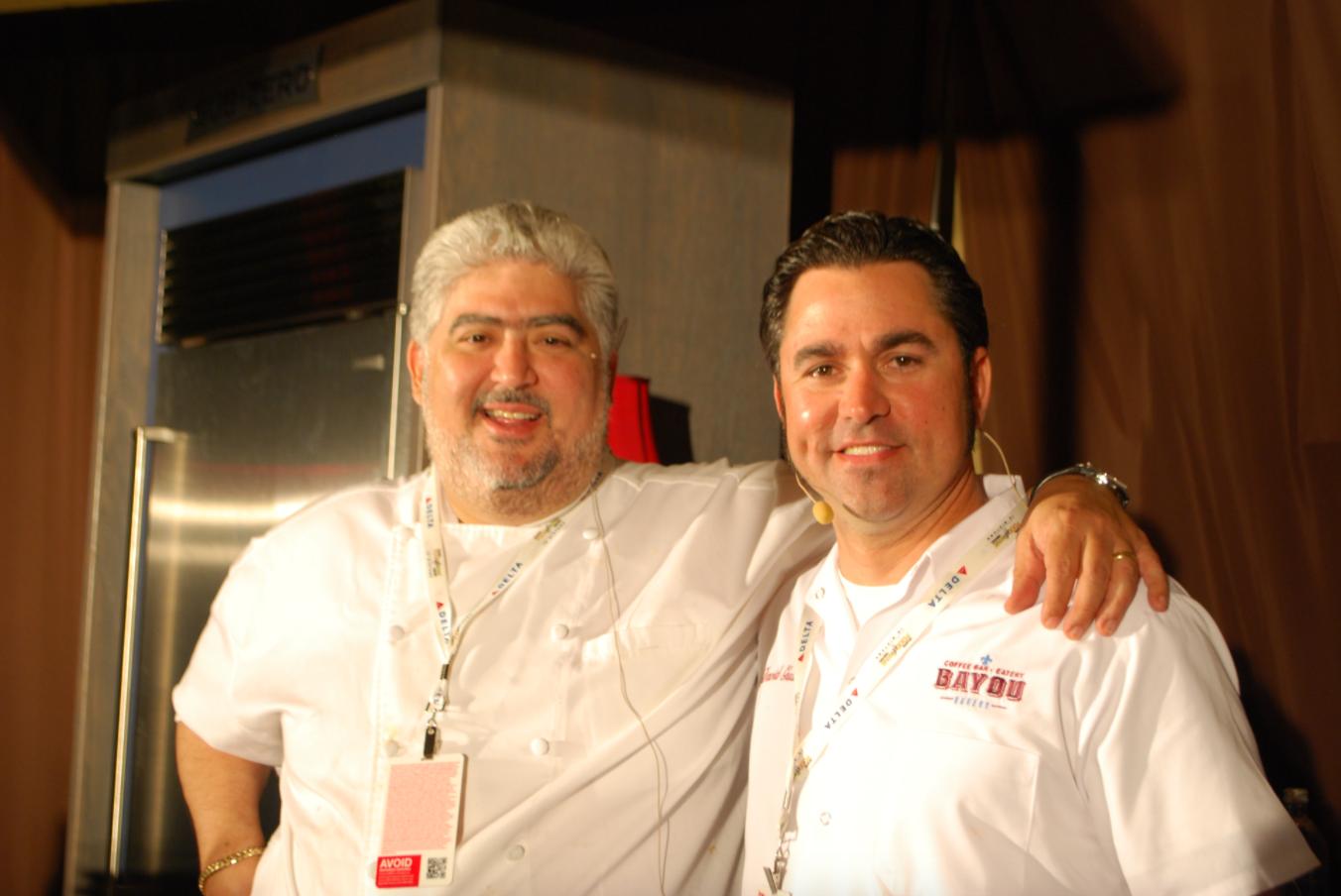 Chefs Adolfo Garcia & David Guas at the 2013 Atlanta Food & Wine Festival