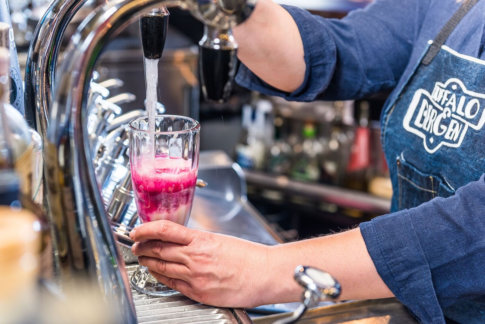 Sweet On The Soda Pop Buffalo & Bergen Marries Vintage Soda Fountains with Classic Mixology -