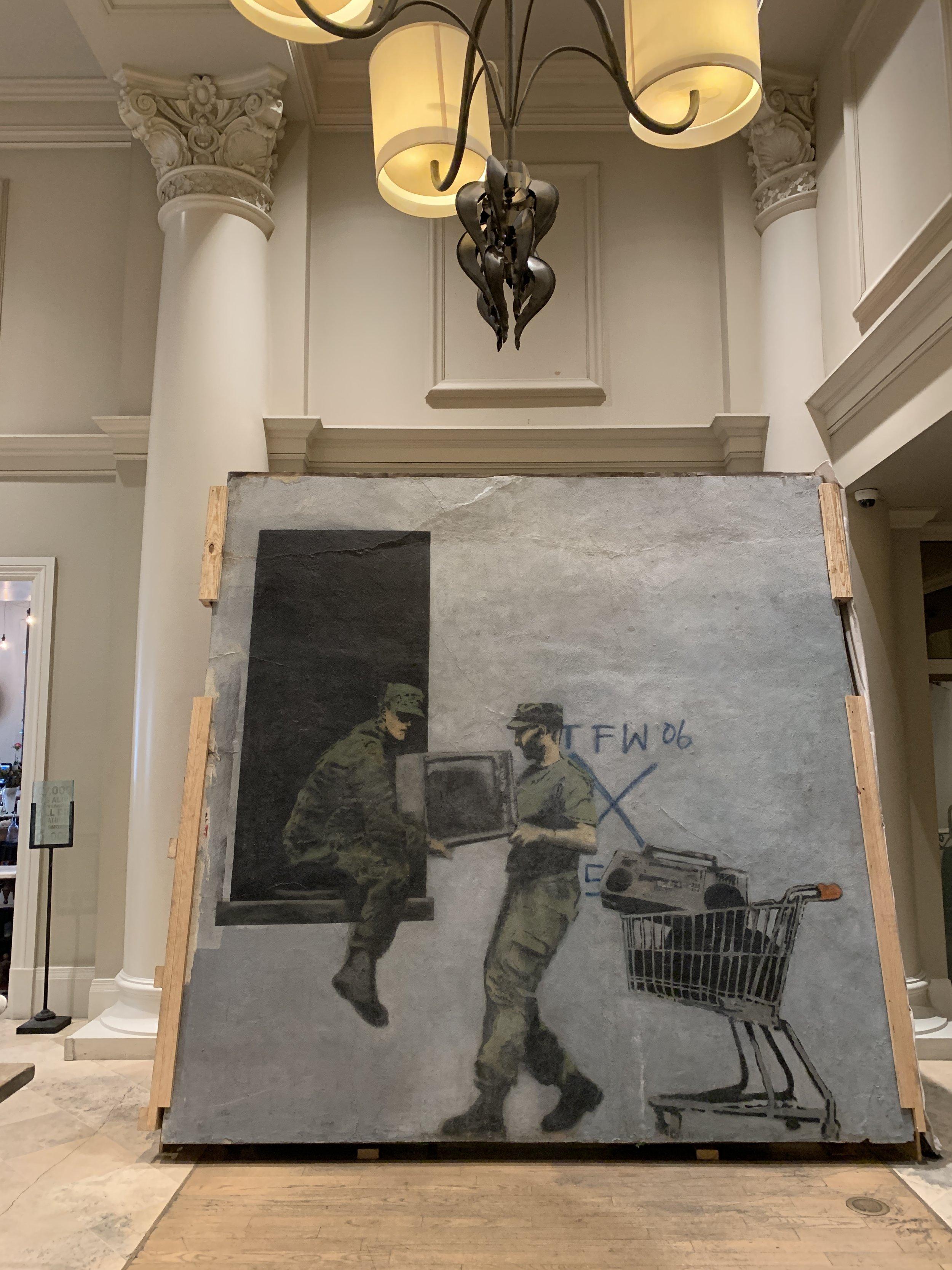 Bringing Banksy Back -
