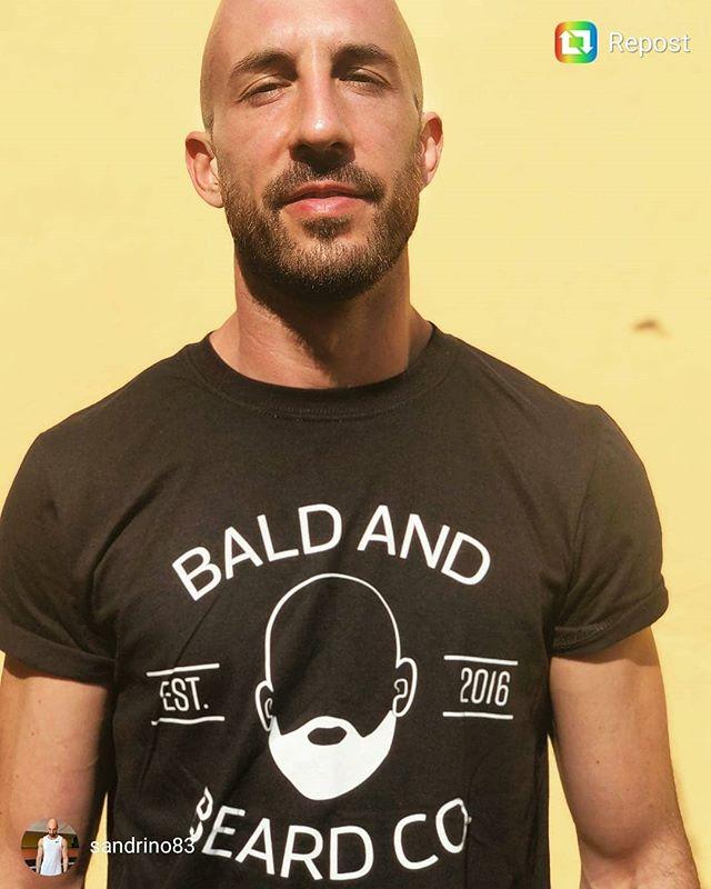 Check out @sandrino83 in his #baldandbeard tee 🙌