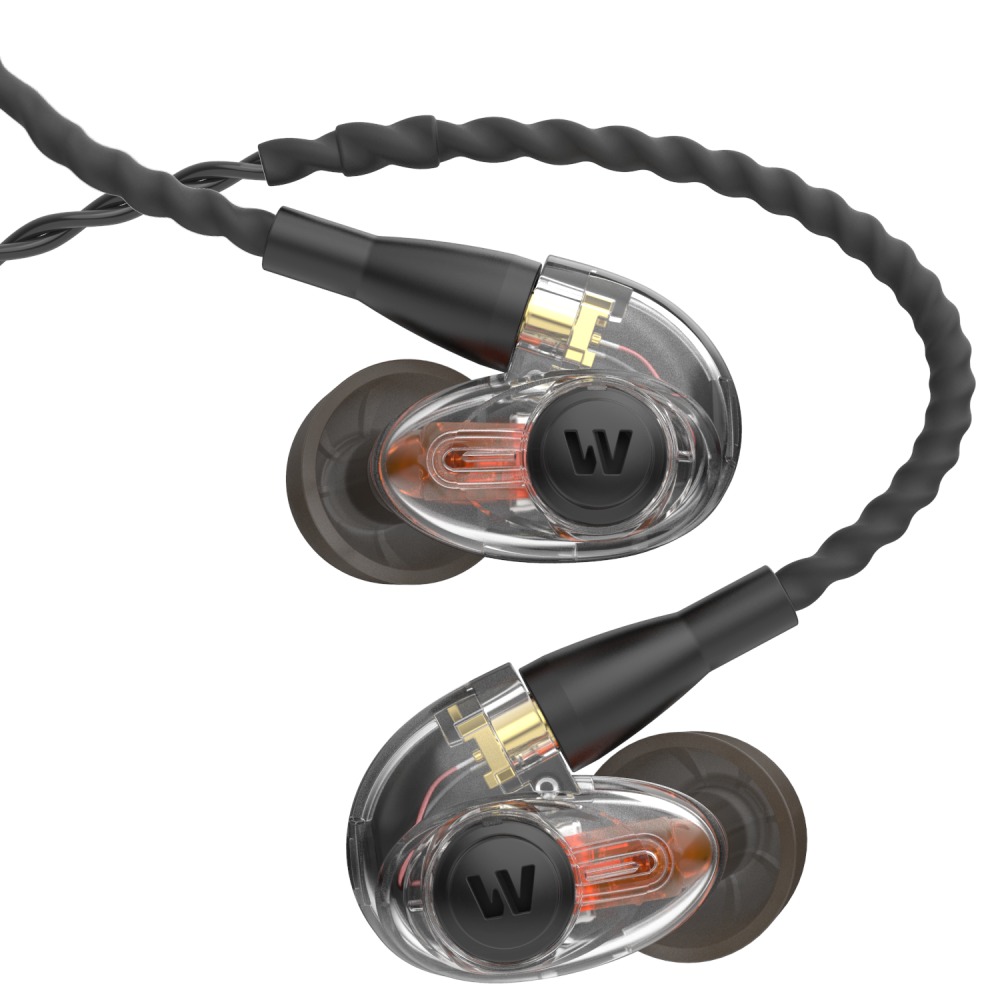 Pictured here: UM Pro 50 In Ear Monitors