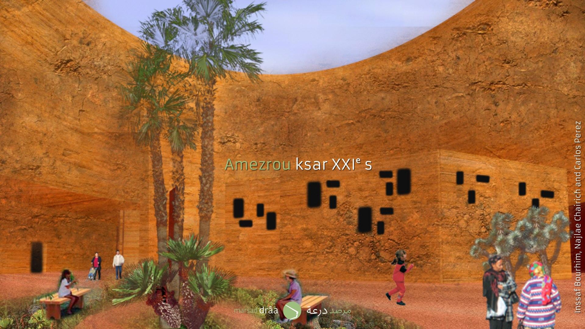 La construction des ksour du XXIe siècle demandent aussi une évolution des techniques constructives traditionnelles qui résolvent les problèmes et pathologies des ce type de construction.