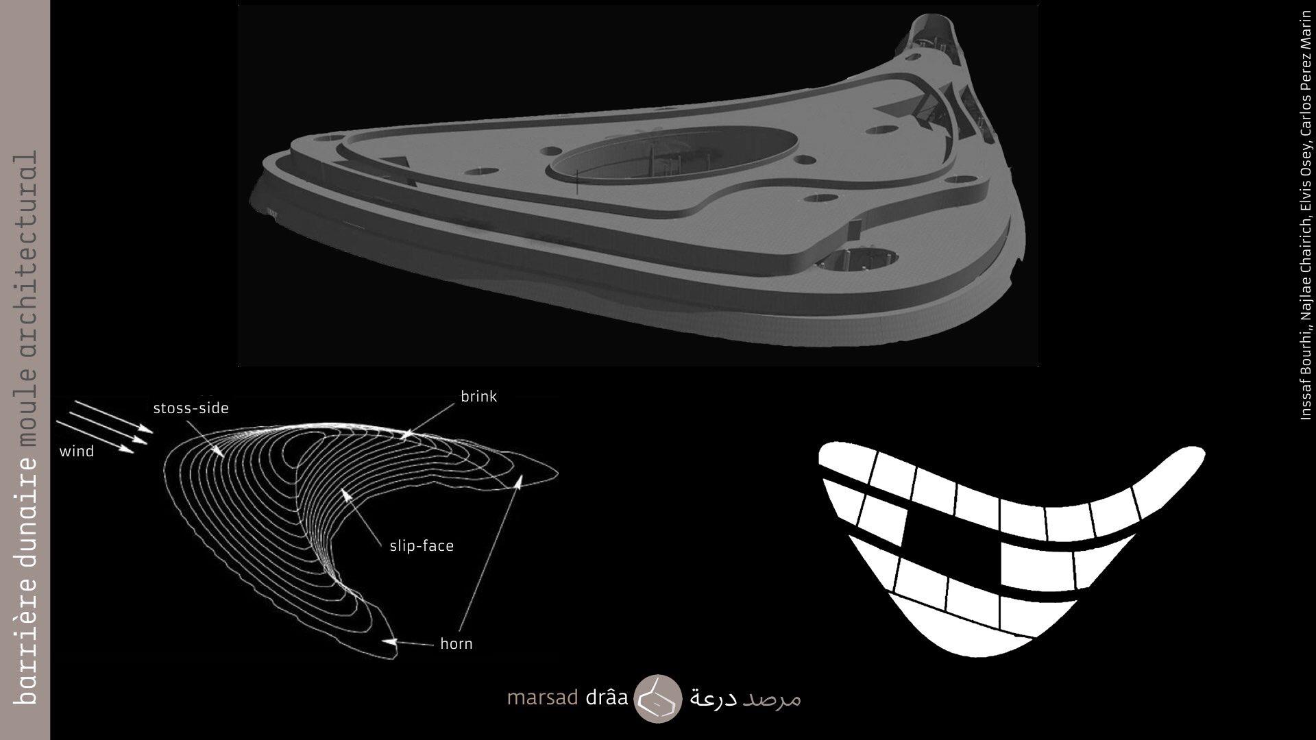 15. Cette expérience est issue d'un concours des étudiants de l'École d'Architecture de Tétouan et Rabat (Inssaf Bourhim, Najlae Chairich et Elvis Osey, encadrés par Carlos Perez).