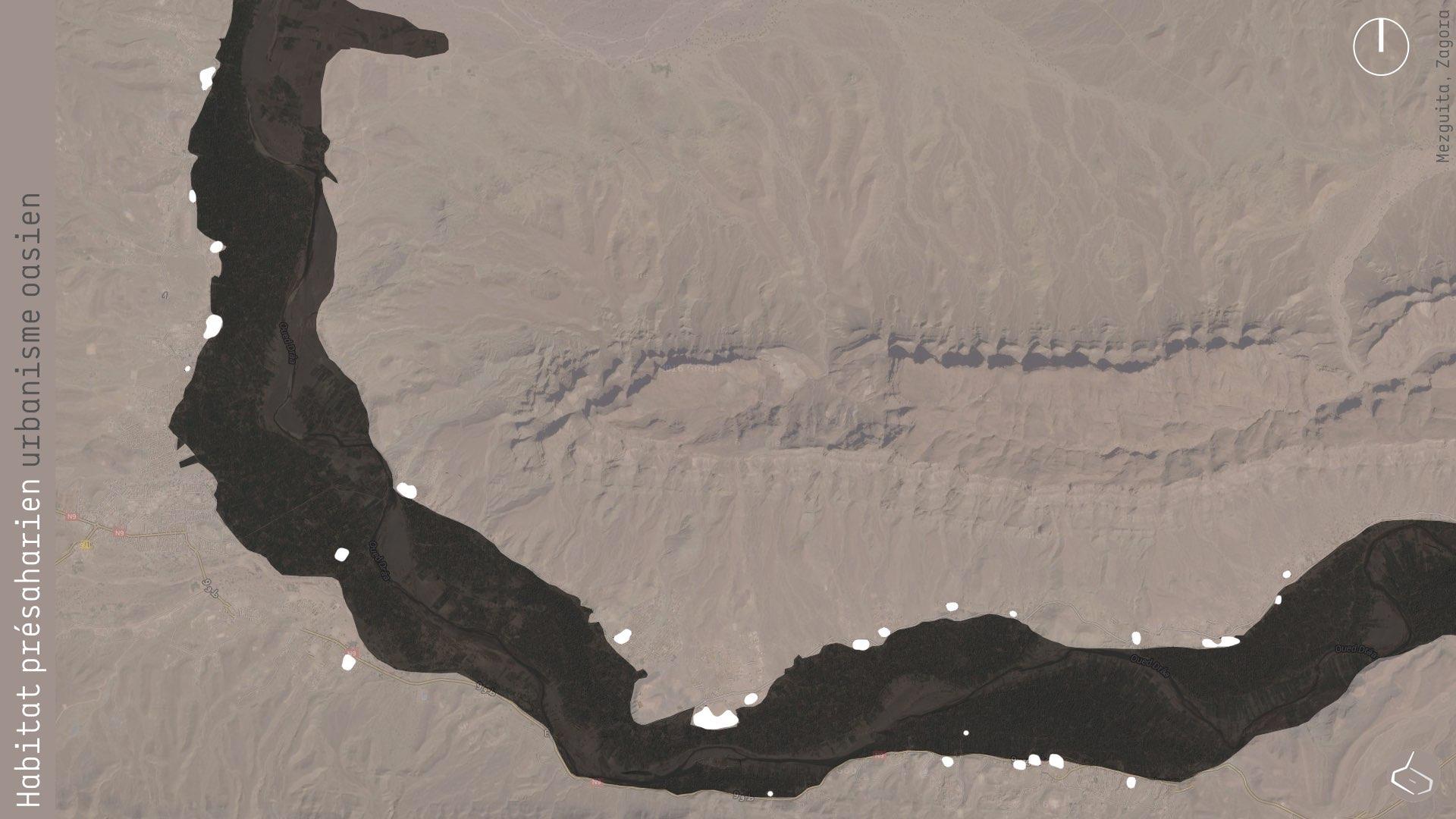 6. Les ksour ont dû être bâtis au bord de la palmeraie (sauf trois).       6. The ksour had to be built at the edge of the palm grove (except three of them).     PATRIMOINE/HERITAGE MEZGUITA:     https://plus.google.com/u/1/collection/oCo9c