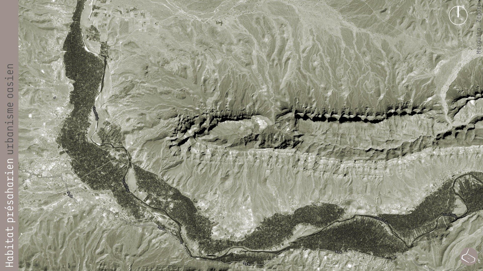 4. Une des premières palmeraies de la vallée du Drâa est celle de Mezquita.       4. One of the first palm groves of the Drâa valley is Mezquita.