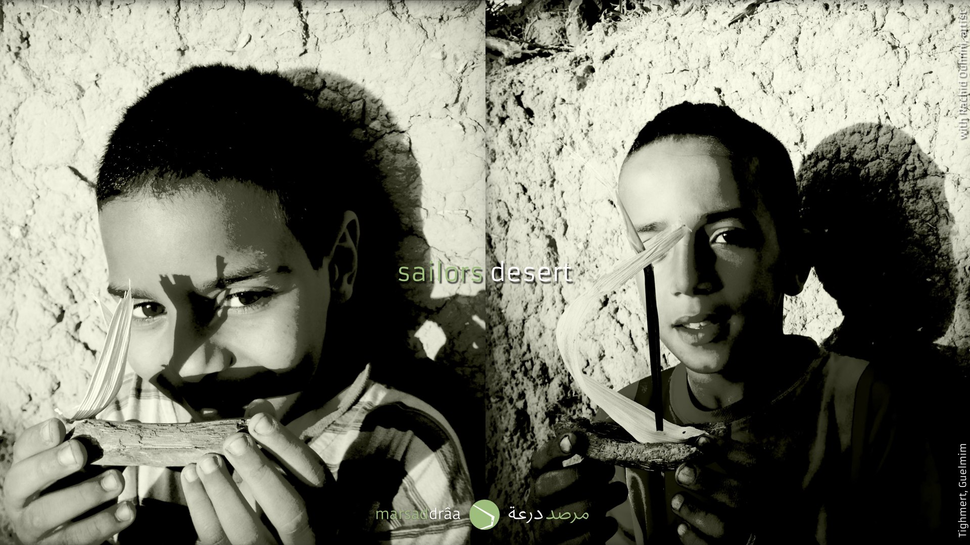 Some of the sailors of the desert, Ali and Abderrahim.