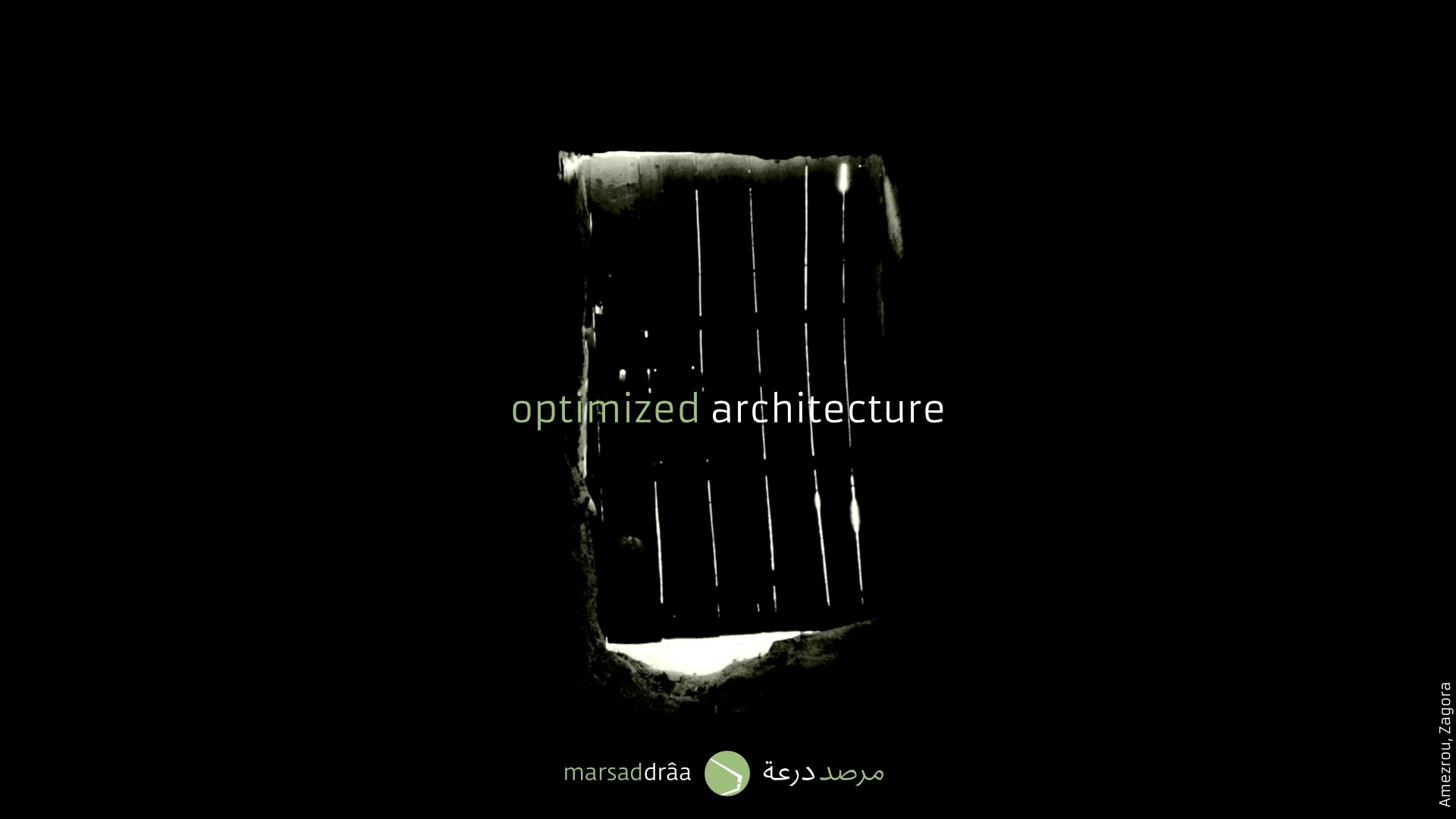 Where architecture is optimised to the maximum.