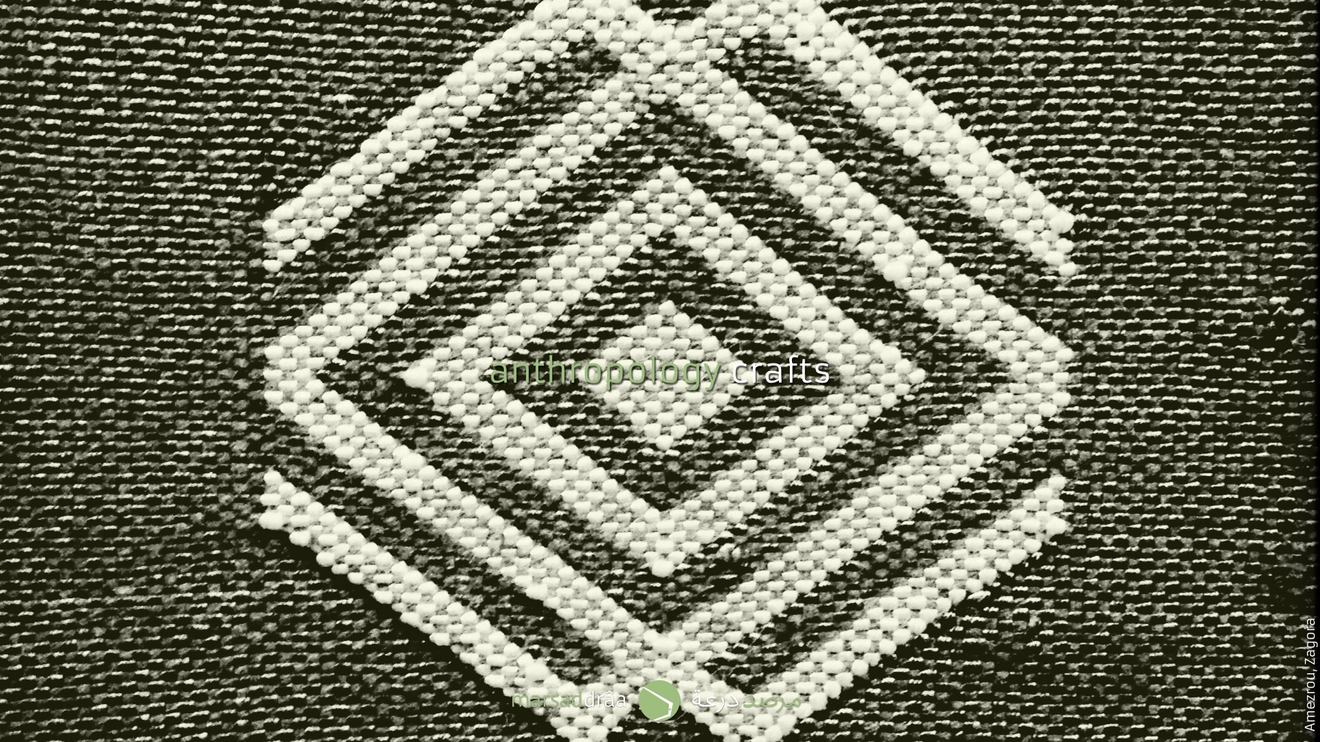 Or like the design used in carpets, that comes from...