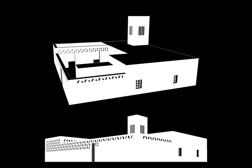 🅦 Community centre, Tissardmine (Morocco) 2015 (work in progress)