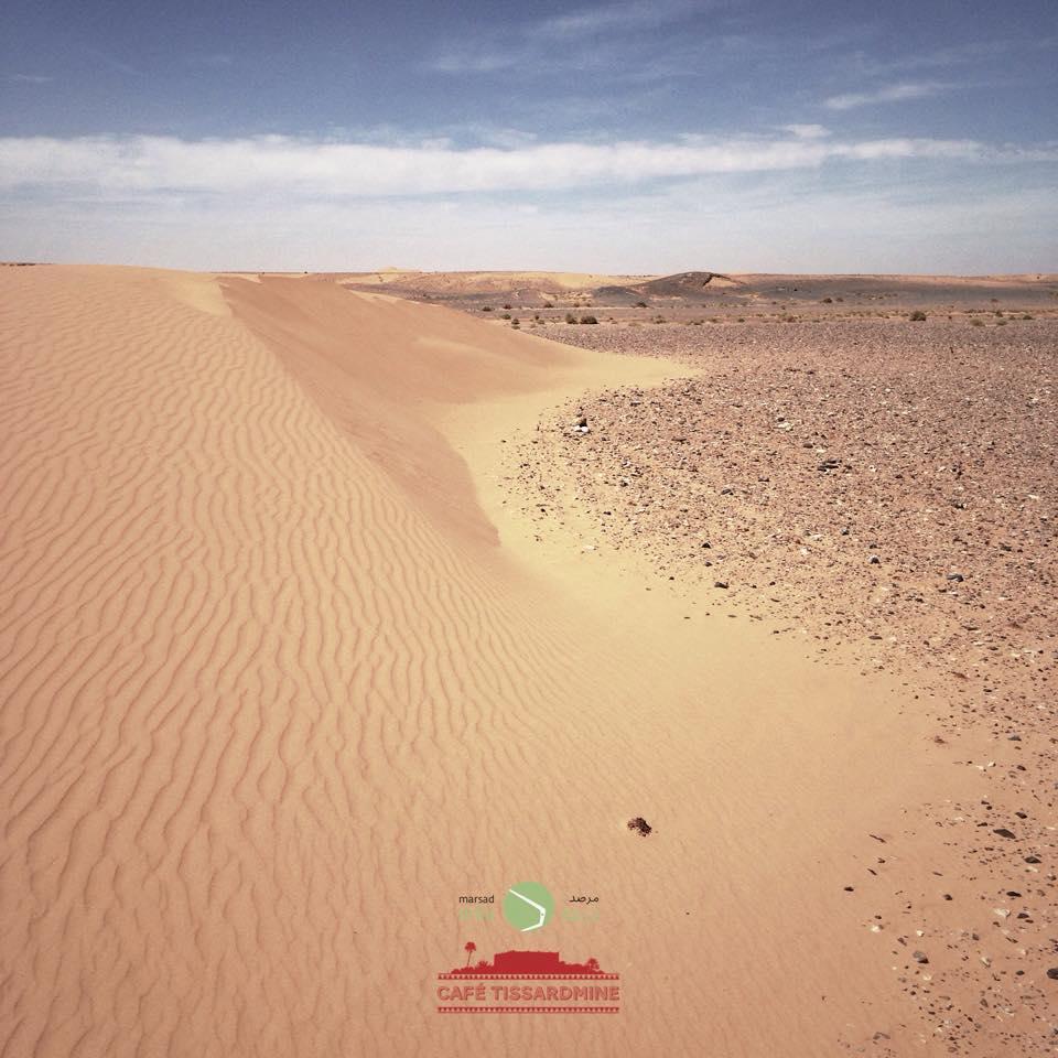 Barkhan dune.