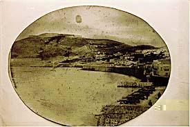 Batería de S.Sebastián en 1890.