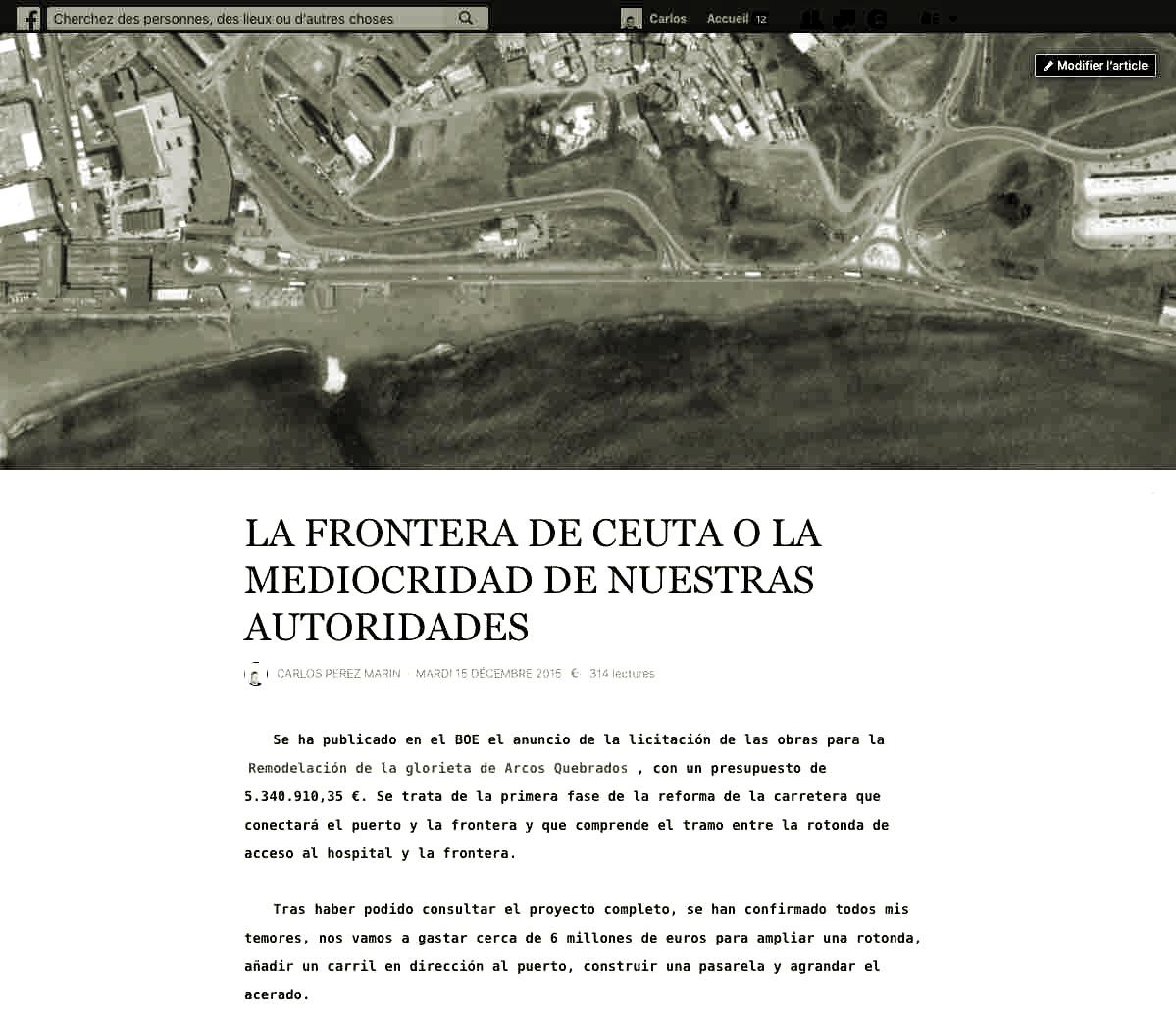 La frontera de Ceuta o la mediocridad de nuestras autoridades 2016